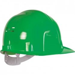 Casque de chantier - Euro protection - Vert - EARLINE - Protection de la tête - SI-409117