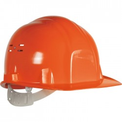 Casque de chantier - Euro protection - Orange - EARLINE - Protection de la tête - SI-409118