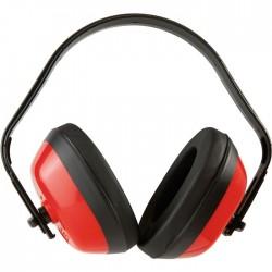 Casque Anti-bruit - 27 dB - Rouge - EARLINE - Casques anti-bruit / Bouchons - SI-126560