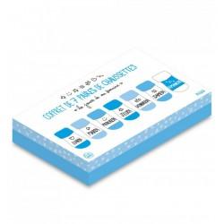 Coffret bébé - 7 paires de chaussettes - Blanc / Bleu - LE STUDIO - Enfants / Protection enfants - DE-503757