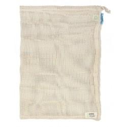 Sac à fruits / légumes - Coton - Blanc cassé - 30 X 40 cm - POINT VIRGULE - Rangement et nettoyage - DE-528621