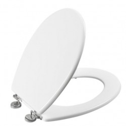 Abattant WC - Boliva - Blanc - ALLIBERT - Accessoires WC - DE-575985