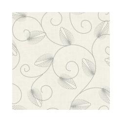 Nappe - Rectangle - Toile cirée - Jolice - Crème - 150 x 220 cm - D C TABLE - Nappe - DE-491670