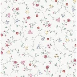 Nappe - Rectangle - Toile cirée - Bella - Crème - 150 x 220 cm - D C TABLE - Nappe - DE-353904