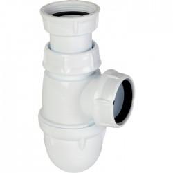 Siphon pour évier - Plastique - à culot - 40 mm - NICOLL - Siphons pour évier de cuisine - SI-150240