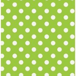 Nappe - Ronde - Toile cirée - Venita - Vert Citron - 150 cm - D C TABLE - Nappe - DE-490558