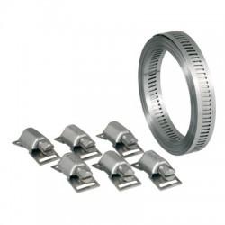 Bande sans fin 13 mm W4 - 3 mètres + 6 têtes - ACE - Colliers de serrage - BR-129991