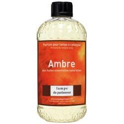 Recharge pour lampe àparfum - Ambre - 500 ml - LAMPE DU PARFUMEUR - Parfum d'intérieur - DE-542985