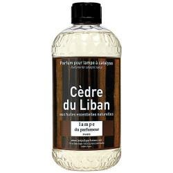 Recharge pour lampe àparfum - Cèdre du Liban - 500 ml - LAMPE DU PARFUMEUR - Parfum d'intérieur - DE-313254