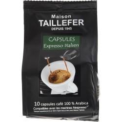 Café en capsule - Expresso Italien - MAISON TAILLEFER - Café / Thé / Infusion - DE-765487