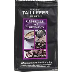 Café en capsule - Dégustation - MAISON TAILLEFER - Café / Thé / Infusion - DE-765222