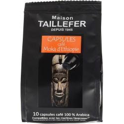 Café en capsule - Moka d'Ethiopie - MAISON TAILLEFER - Café / Thé / Infusion - DE-765230
