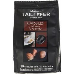 Café en capsule - Saveur Noisette - MAISON TAILLEFER - Café / Thé / Infusion - DE-765263