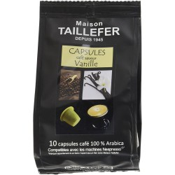 Café en capsule - Saveur Vanille - MAISON TAILLEFER - Café / Thé / Infusion - DE-765271
