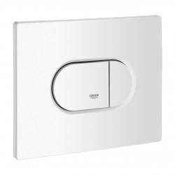 Plaque de commande - Double débit - Arena Cosmopolitan - Blanc Alpin - GROHE - Commande WC / Boutons poussoir - SI-627222