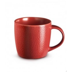 Set de 6 tasses - Ligne Stone - Rouge - Grès - MEDARD DE NOBLAT - Tasse / Mug - DE-725176