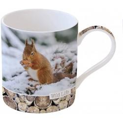 Mug - Wild Life - Ecureuil - Porcelaine - EASY LIFE - Tasse / Mug - DE-556143