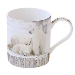 Mug - Wild Life - Ours Polaire - Porcelaine - EASY LIFE - Tasse / Mug - DE-556119