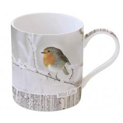 Mug - Wild Life - Rouge Gorge - Porcelaine - EASY LIFE - Tasse / Mug - DE-556168