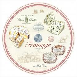 Plateau à fromages tournant - Verre - 32 cm - EASY LIFE - Assiette / plat / plateau / coupelle - DE-564220