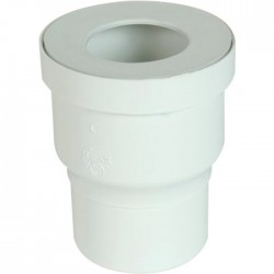 Pipe WC droite - 100 mm - Joint 85-107 - NICOLL - Raccordement WC - SI-342772