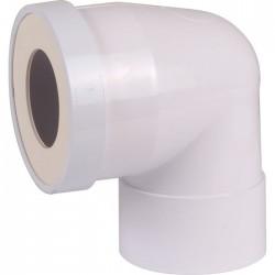 Pipe WC courte à 90° - Femelle - 100 mm - Raccordement WC - SI-913100