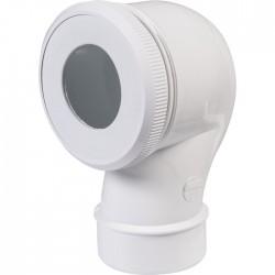 Pipe WC à sortie verticale - 100 mm - NICOLL - Raccordement WC - SI-402342