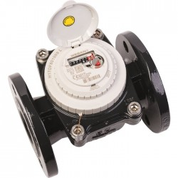 Compteur d'eau Woltman - Eau froide - 80 mm - 40 m3 / h - WESAN - DIELH - Compteurs d'eau et accessoires - SI-467213