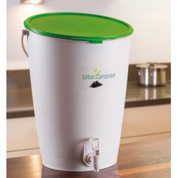 Composteur de cuisine - Urban - 15 L - GARANTIA - Composteur - DE-409607