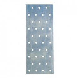Platine Multi trous - 240 x 100 mm - GAH ALBERTS - Fixations charpente - BR-028657