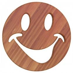 Dessous de plat - Bambou - Aimanté - Smiley - ARTYFORM - Accessoires / Dessous de plat - DE-563024