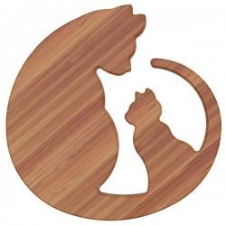Dessous de plat - Bambou - Aimanté - Chats - ARTYFORM - Accessoires / Dessous de plat - DE-562968