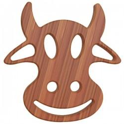 Dessous de plat - Bambou - Aimanté - Vache - ARTYFORM - Accessoires / Dessous de plat - DE-562984