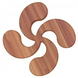 Dessous de plat - Bambou - Aimanté - Croix Basque - ARTYFORM - Accessoires / Dessous de plat - DE-564353