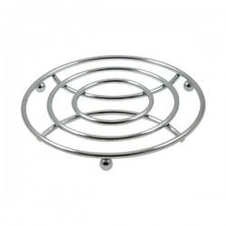 Dessous de plat - Chromé - 18 cm - COSY & TRENDY - Accessoires / Dessous de plat - DE-563874