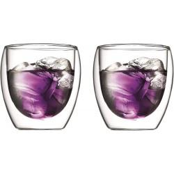 Set de 2 verres - Double paroi - 25 cl - BODUM - Verre / Chope / Coupe - DE-645598