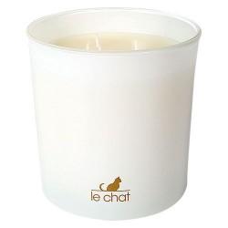 Bougie parfumée - Vanille / Tiaré - 170 gr - LE CHAT - Bougies parfumées - DE-323006
