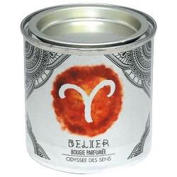 Bougie parfumée - Zodiaque - Bélier - ODYSSEE DES SENS - Bougies parfumées - DE-315086