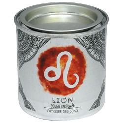 Bougie parfumée - Zodiaque - Lion - ODYSSEE DES SENS - Bougies parfumées - DE-314659