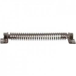 Ferme-porte mécanique - Spire - N°12 - Acier nickelé - 225 mm - Ferme-porte et pivot - BR-330206