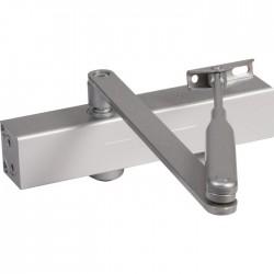 Ferme-porte contemporain - Ultra compact - Argent - GROOM - Ferme-porte et pivot - SI-330270