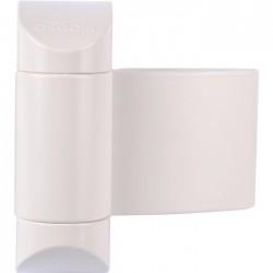 Ferme-porte - à ressort / réversible - Groomex - Blanc - GROOM - Ferme-porte et pivot - SI-330070