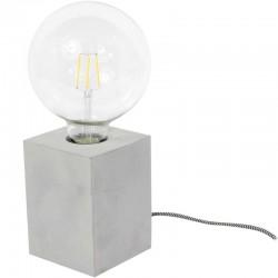 Lampe à poser - Cube - Béton Gris - LE STUDIO - Pour l'intérieur - DE-503640