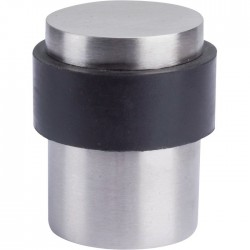 Butée de sol - Inox - 35 mm - VACHETTE - Butée et arrêt de porte - SI-331199