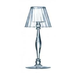 Photophore - Verre - Lampe du poète - 21 cm - BOUGIES LA FRANÇAISE - Bougies de table / Accessoires - DE-465527