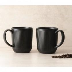 Mug x 2 - Douro - Noir - Porcelaine - BODUM - Tasse / Mug - DE-526641