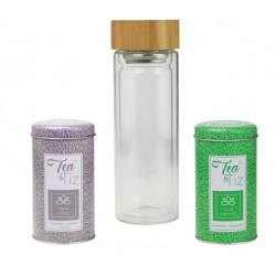 Coffret - Tea and Tiz - Bouteille / Tisanes - ARD'TIME - Bouteille, gourde, mug, canette - DE-480012