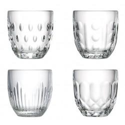 Set de 4 verres - Troquet - LA ROCHERE - Verre / Chope / Coupe - DE-500430