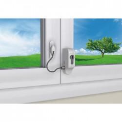 Entrebailleur de sécurité à câble - Blanc - SOCONA - Entrebailleur fenêtre et porte - SI-007313