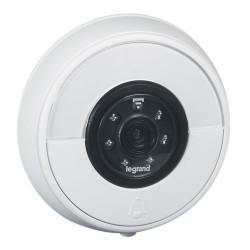 Sonnette connectée IP44 IK06 connexion directe à la box Wi-Fi - Blanc - LEGRAND - Carillons / Sonnettes / Interphones - BR-1...